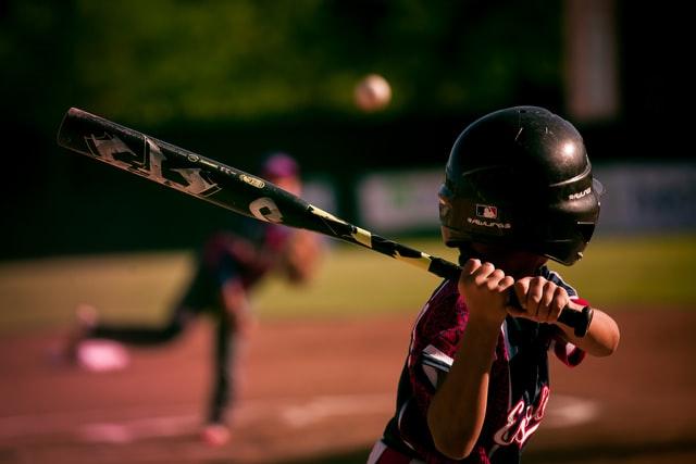 Baseball at night