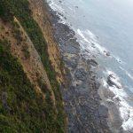 PRECIPITOUS BORDER OF LAND AND SEA by Nilmini De Silva