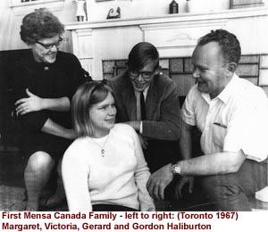 The first Mensa Canada family -- The Haliburtons