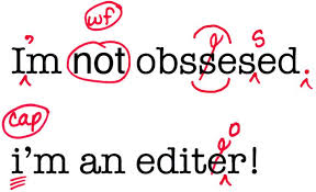 Image of obsessed editor